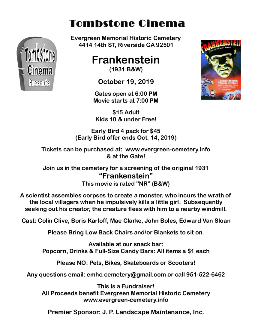 Tombstone Frankenstein